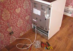Подключение электроплиты. Подольские электрики.