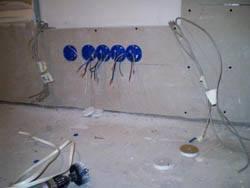 Электромонтажные работы в квартирах новостройках в Подольске. Электромонтаж компанией Русский электрик
